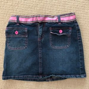 Vintage Lilly Pulitzer Jean Skirt
